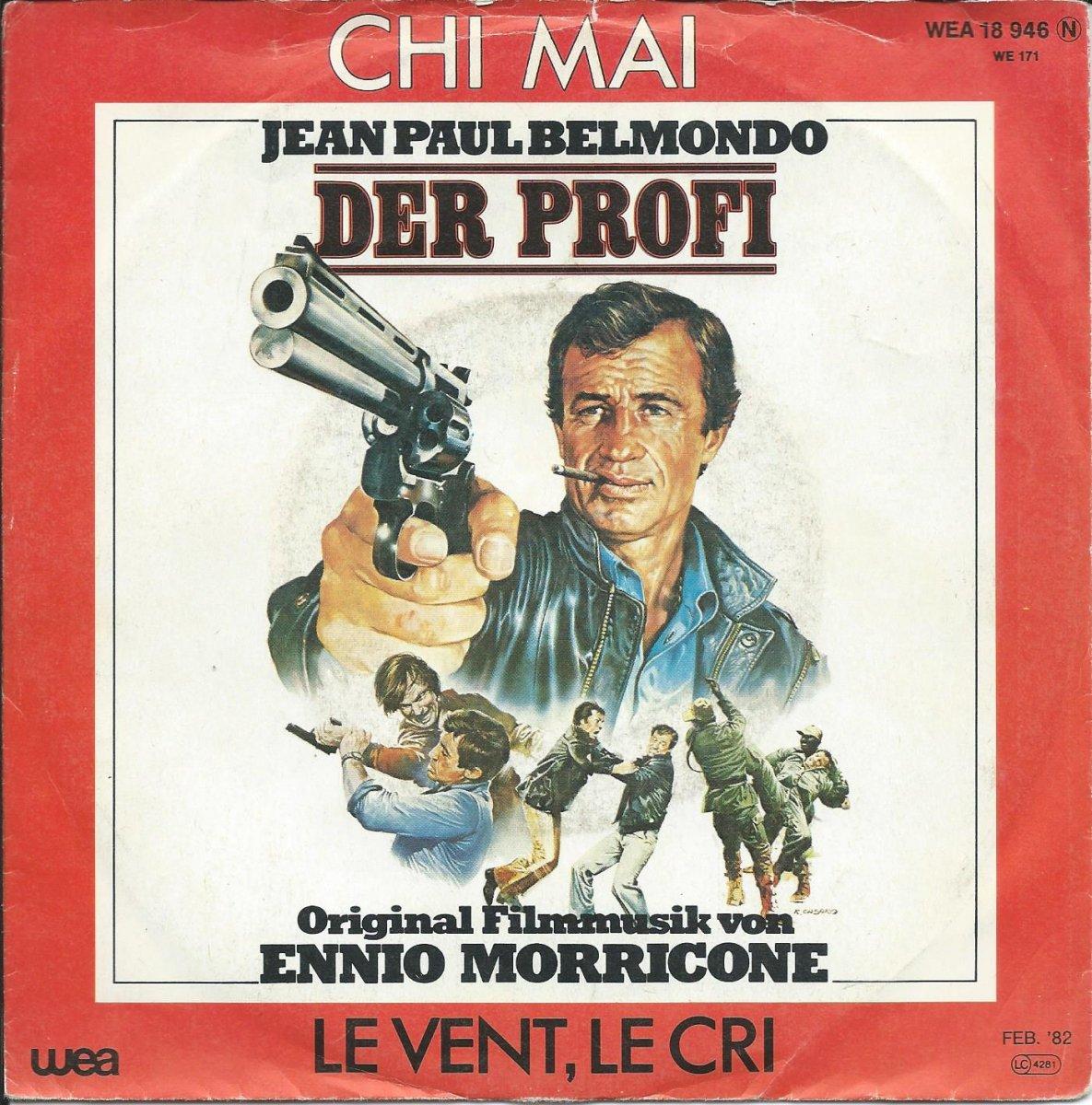 ENNIO MORRICONE / CHI MAI / LE VENT, LE CRI (DER PROFI) (7