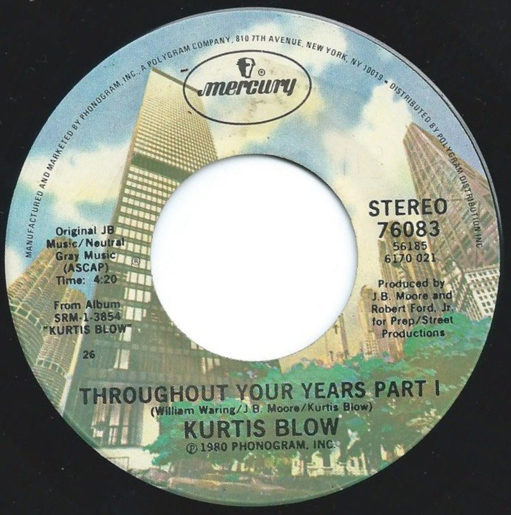 KURTIS BLOW / THROUGHOUT YOUR YEARS (7