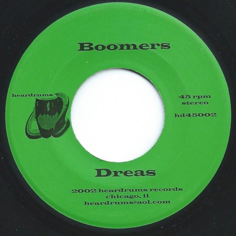 DREAS / MEATY OGRE ‎/ BOOMERS / BELL OF THE BEAST (7