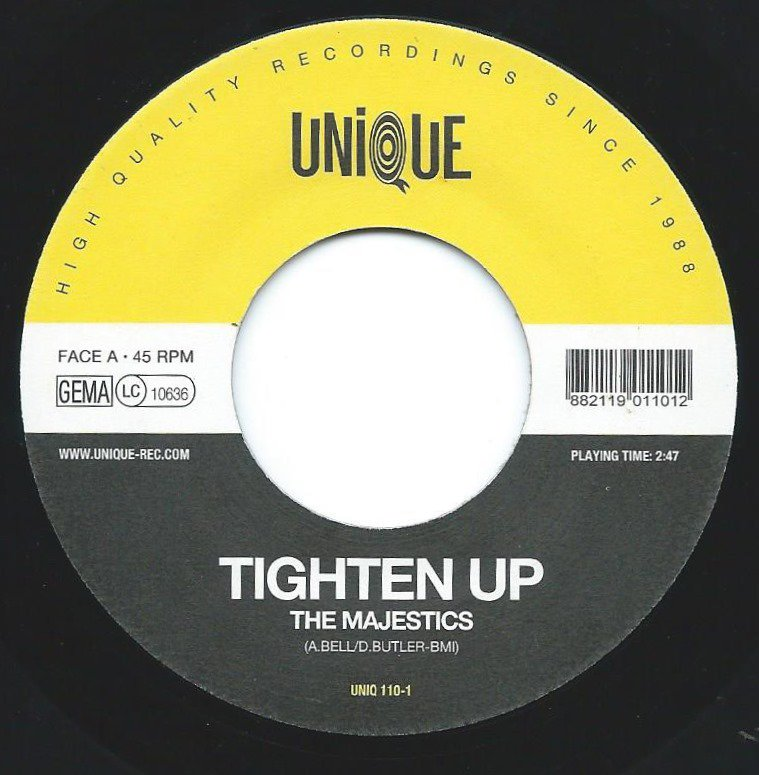 THE MAJESTICS / BENNY GORDON & THE SOUL BROTHERS / TIGHTEN UP (7