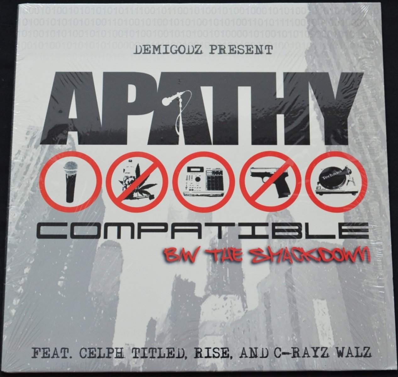 APATHY ‎/ COMPATIBLE / THE SMACKDOWN (PROD BY CELPH TITLED) (12