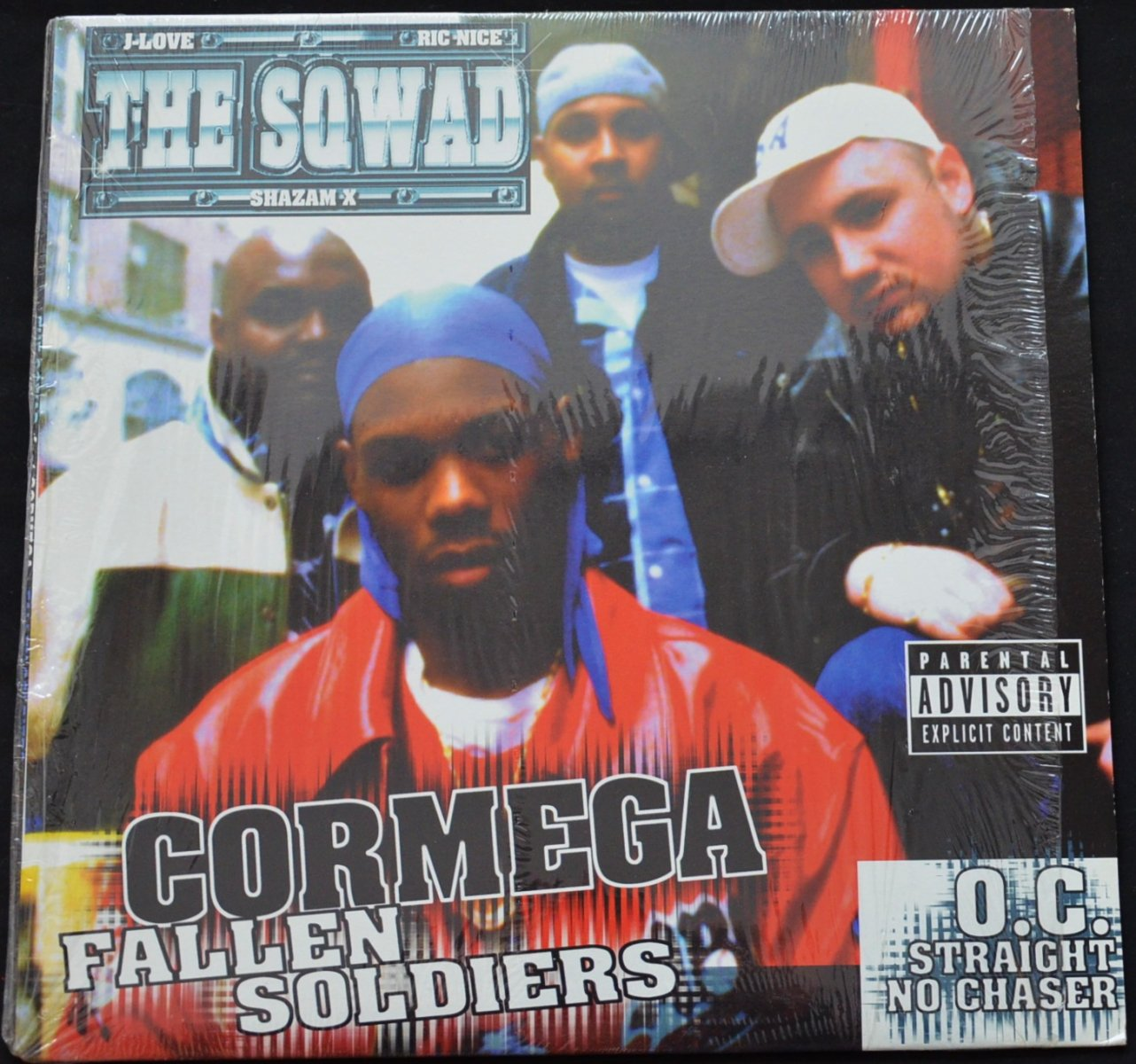 THE SQWAD / FALLEN SOLDIERS (FEAT.CORMEGA) / STRAIGHT NO CHASER (FEAT.O.C.) (12