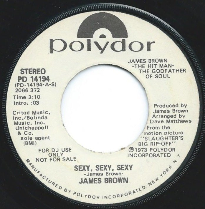 JAMES BROWN / SEXY,SEXY,SEXY / SLAUGHTER THEME (7