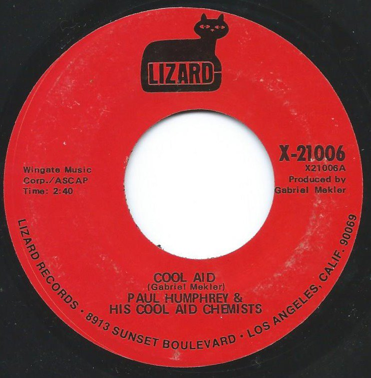 PAUL HUMPHREY & HIS COOL AID CHEMISTS / COOL AID / DETROIT (7