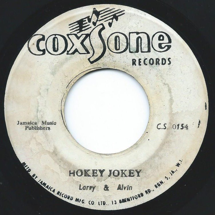 LARRY & ALVIN / JACKIE MITTOO ‎/ HOKEY JOKEY / BLACK ONION (7