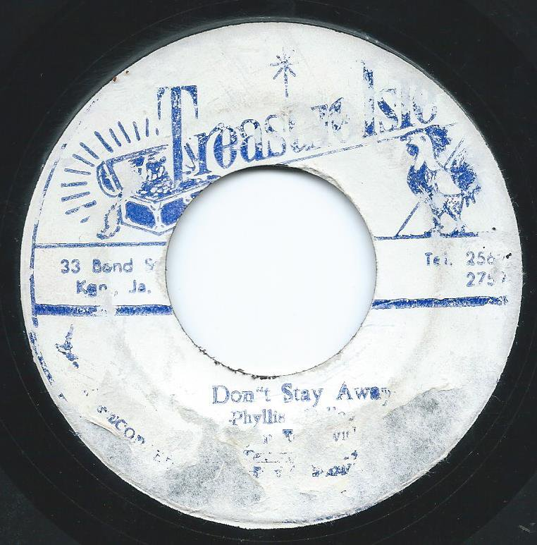 PHYLLIS DILLON,LYNN TAITT WITH TOMMY MCCOOK & THE SUPERSONICS / DON'T STAY AWAY / LOCK JAW (7