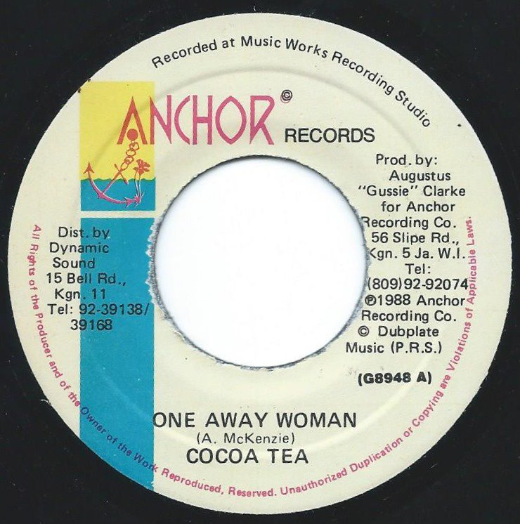 COCOA TEA ‎/ ONE AWAY WOMAN (7
