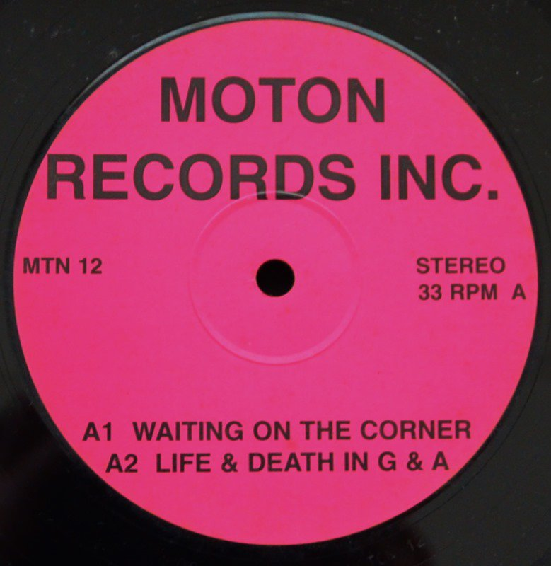 V.A.(THE CHARLIE ROUSE BAND,ABACO DREAM...) / WAITING ON THE CORNER / LIFE & DEATH IN G & A (12