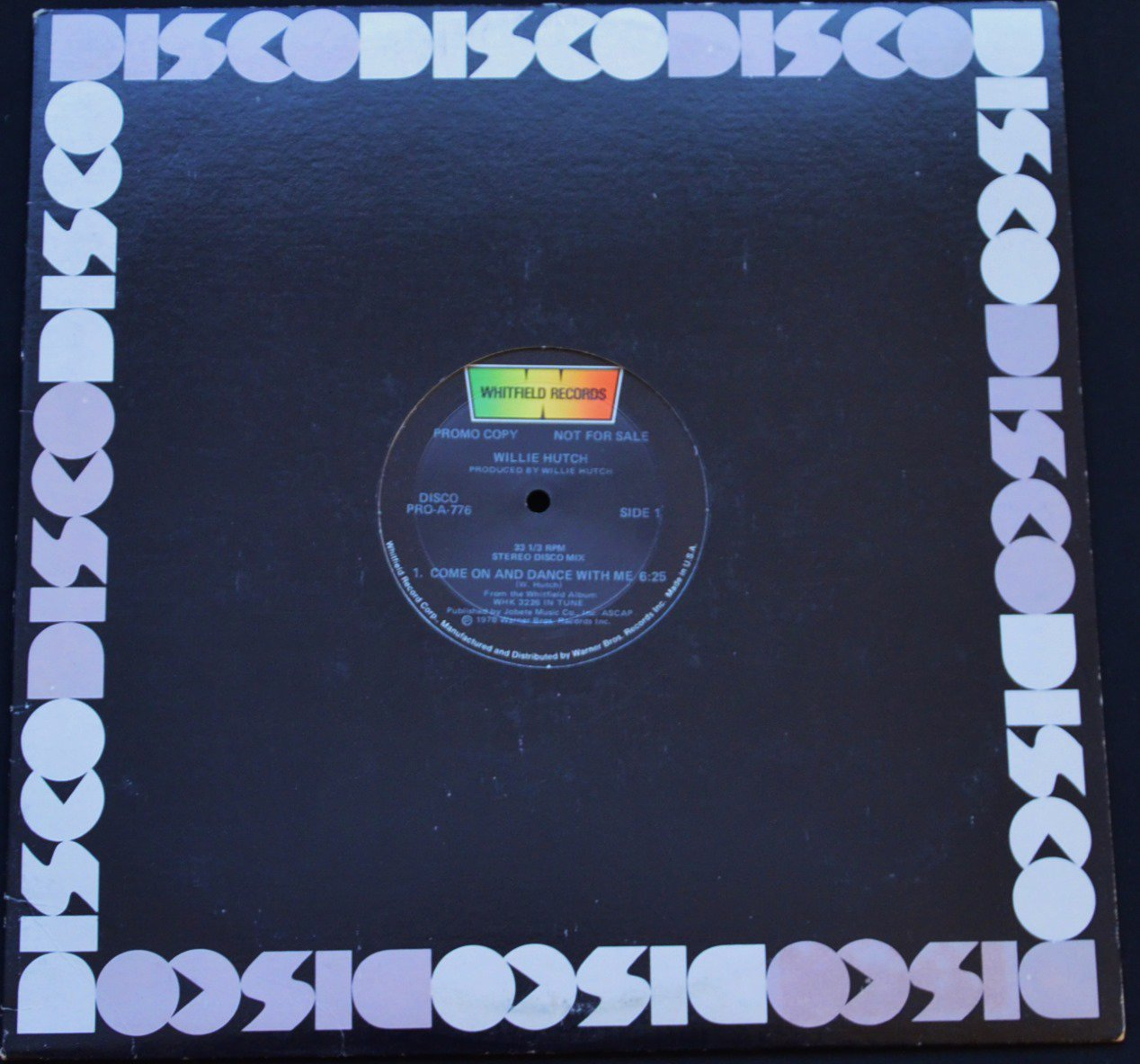 WILLIE HUTCH / COME ON AND DANCE WITH ME (12
