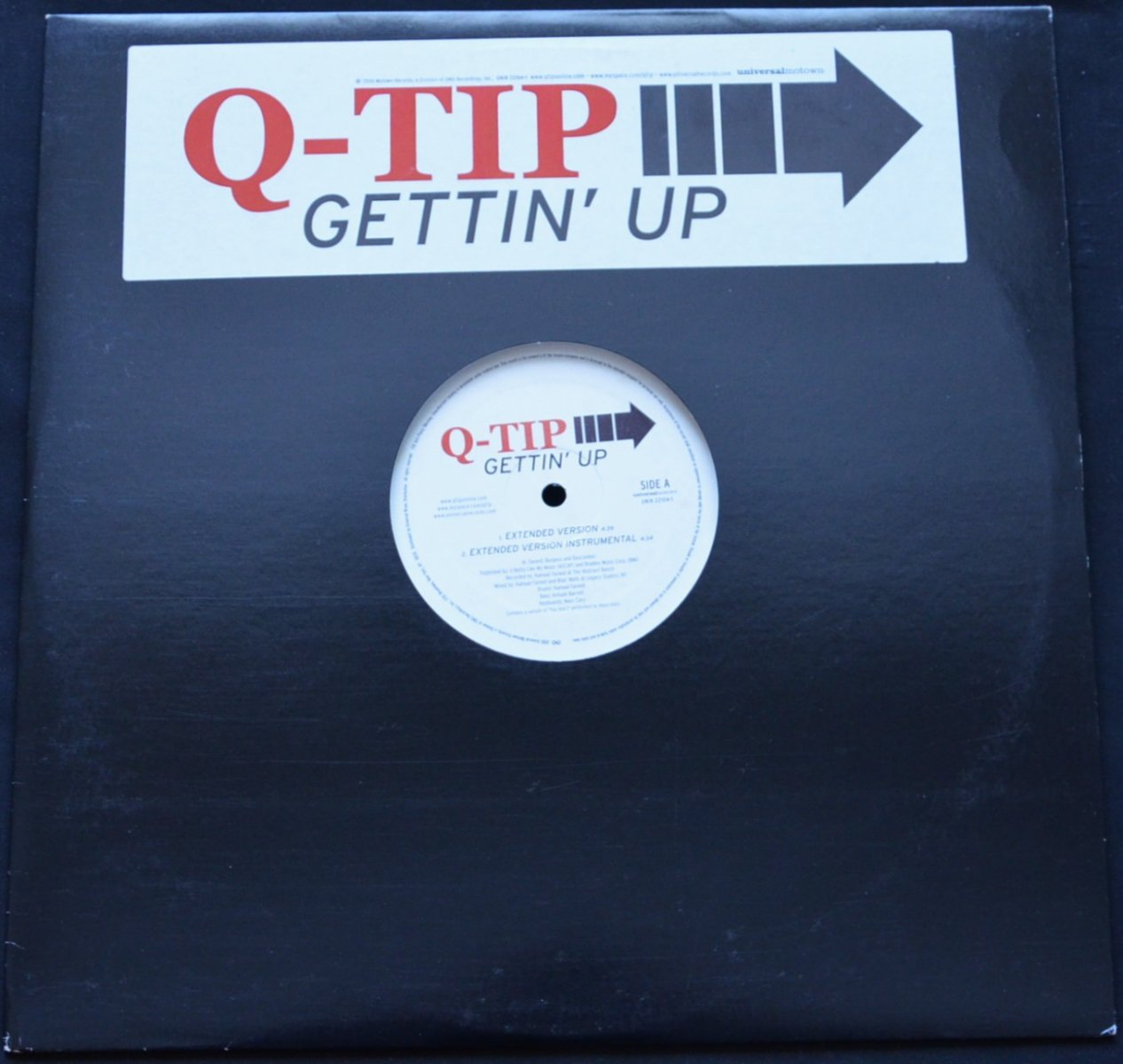 Q-TIP / GETTIN' UP (12