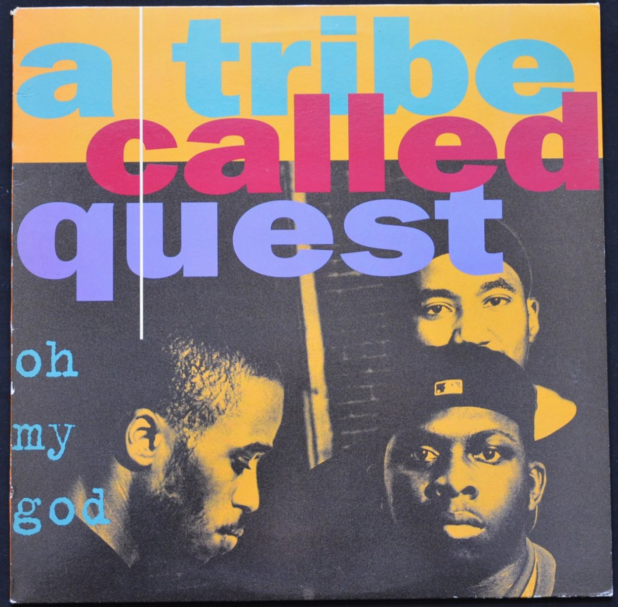 A TRIBE CALLED QUEST ‎/ OH MY GOD / BONITA APPLEBUM / CAN I KICK IT? - UK (12