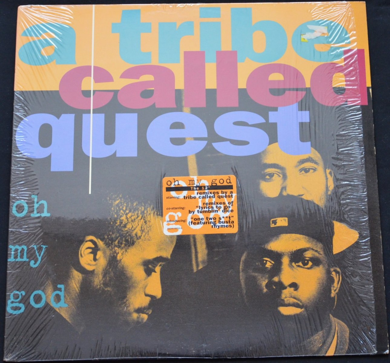 A TRIBE CALLED QUEST ‎/ OH MY GOD / LYRICS TO GO / ONE TWO SHIT (12