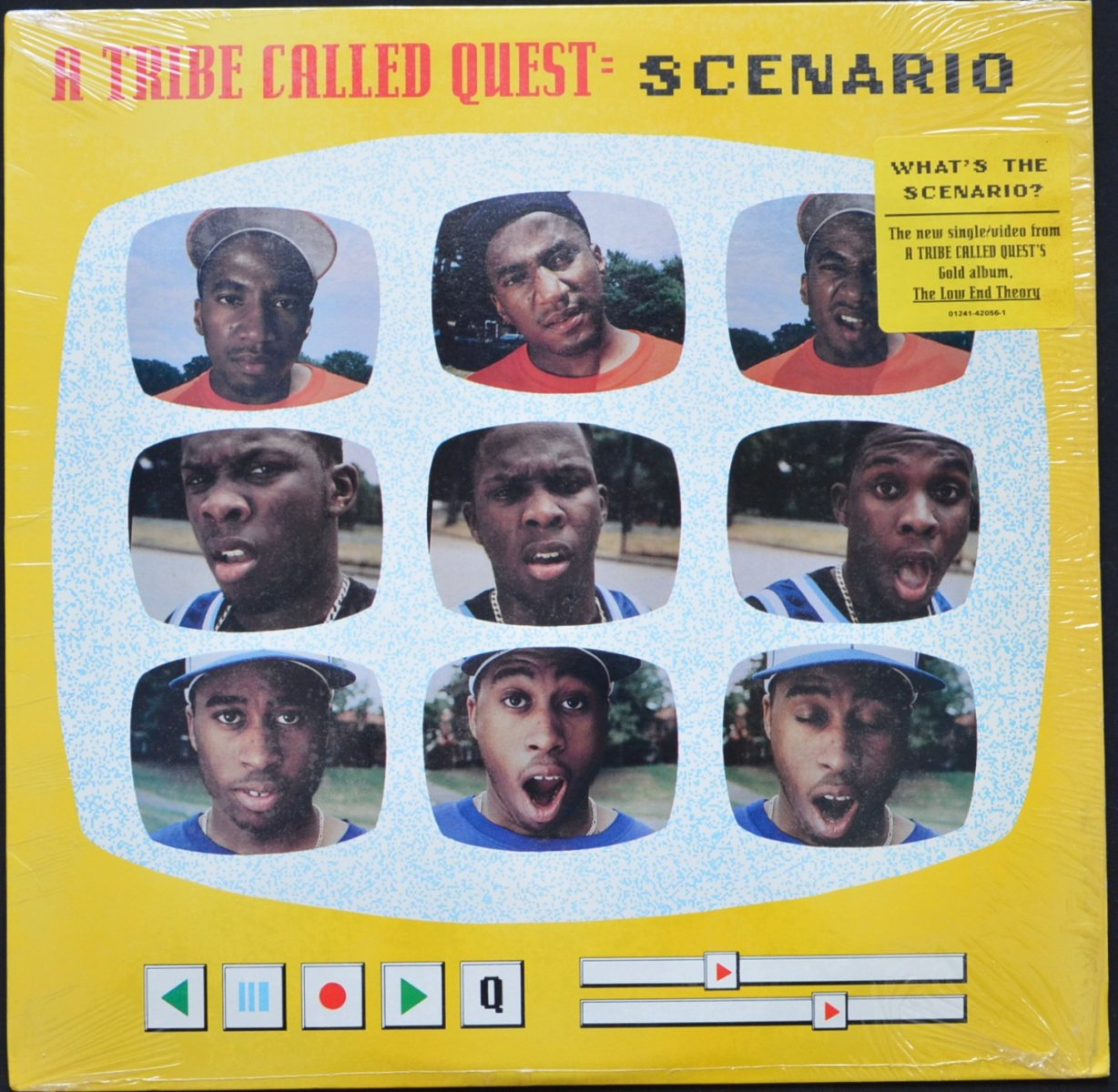 A TRIBE CALLED QUEST ‎/ SCENARIO / BUTTER (EDITED) (12