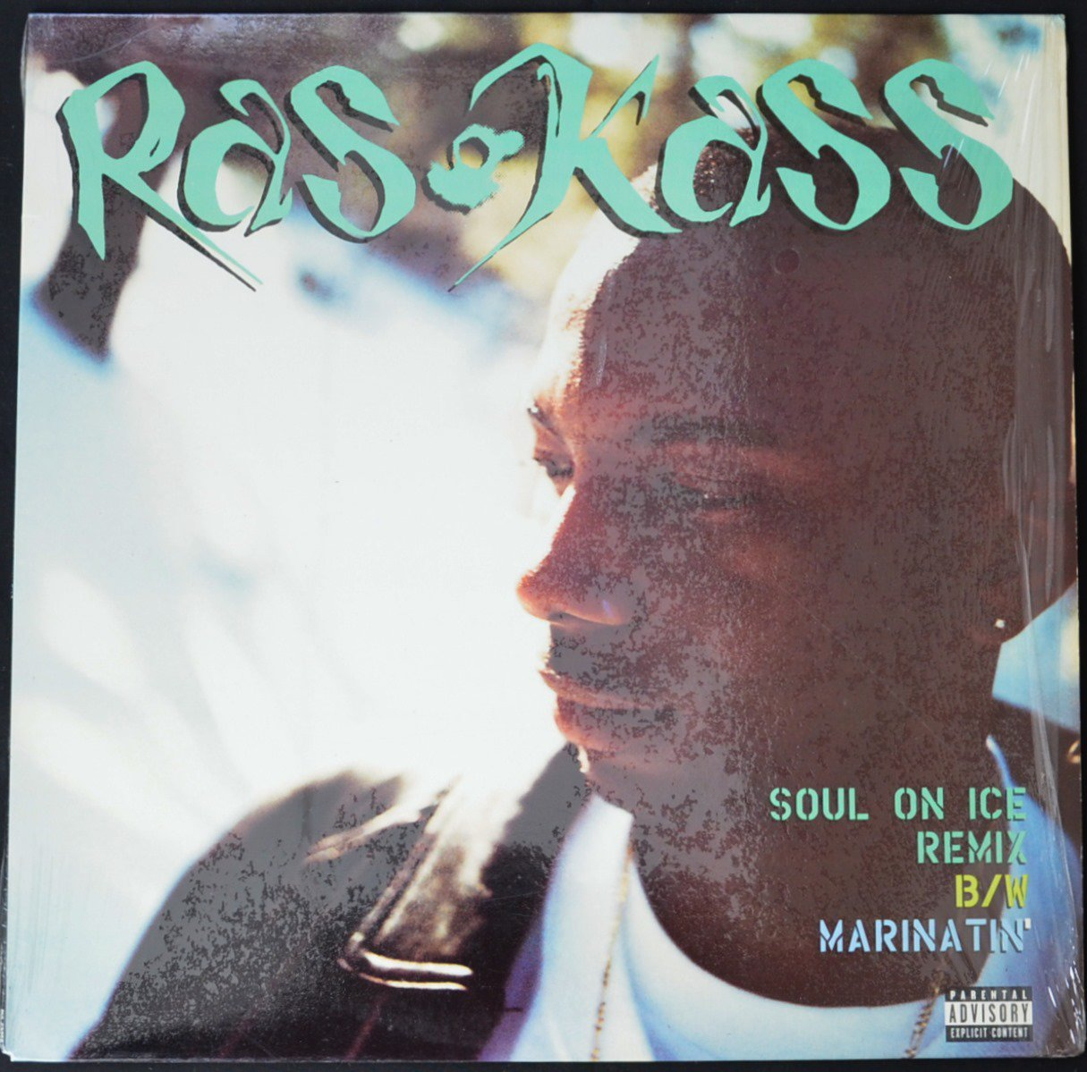 RAS KASS ‎/ SOUL ON ICE (REMIX) (PROD BY DIAMOND D.) / MARINATIN' (PROD BY BATTLE CAT) (12