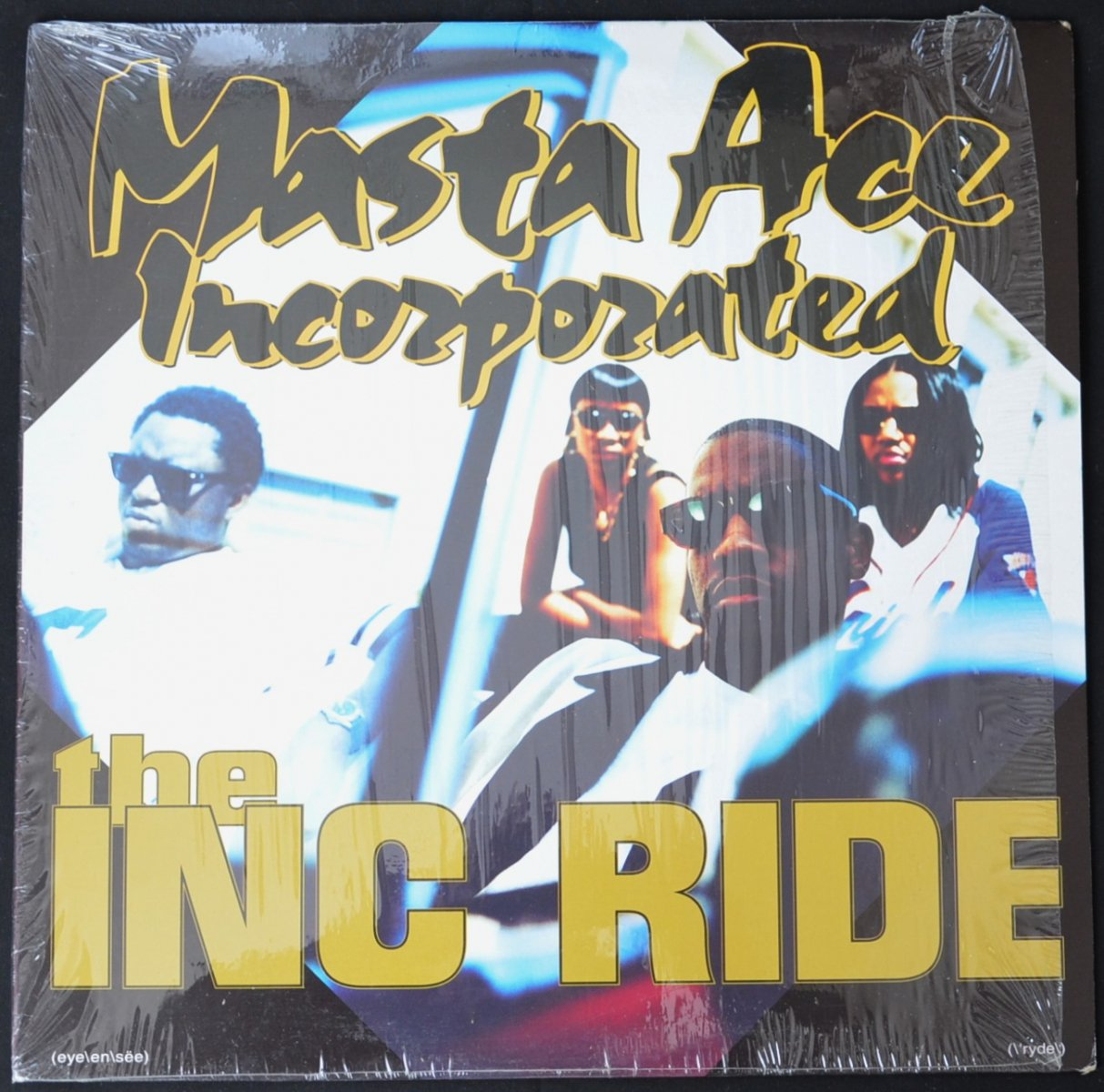 MASTA ACE INCORPORATED ‎/ THE INC RIDE / THE PHAT KAT RIDE / 4 DA' MIND (12