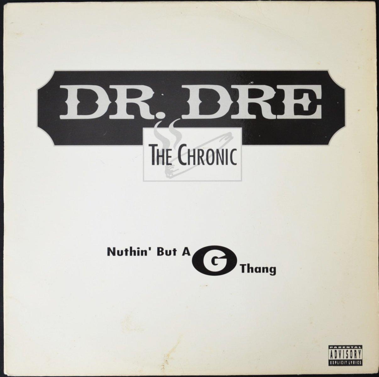 DR. DRE / NUTHIN' BUT A G THANG / A NIGGA WITTA GUN (12