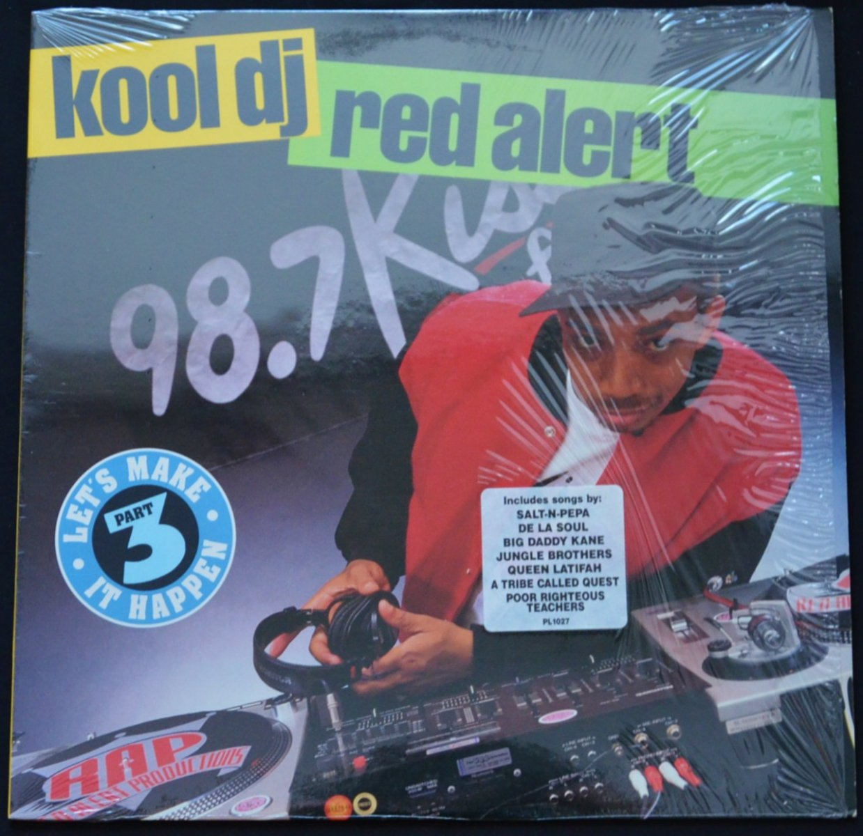 KOOL DJ RED ALERT / (PART 3) LET'S MAKE IT HAPPEN (1LP)