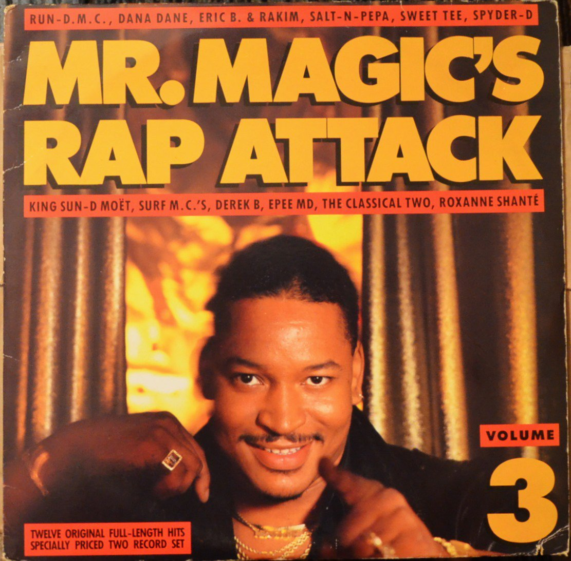V.A. / MR. MAGIC'S RAP ATTACK (VOLUME 3) (2LP)