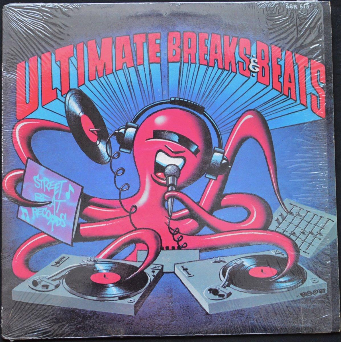 V.A.(BABE RUTH,COKE ESCOVEDO,EASTSIDE CONNECTION...) / ULTIMATE BREAKS & BEATS - 513 (LP)