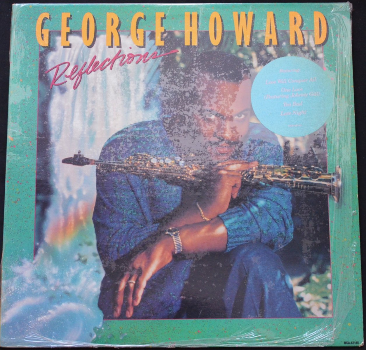 GEORGE HOWARD ‎/ REFLECTIONS (LP)