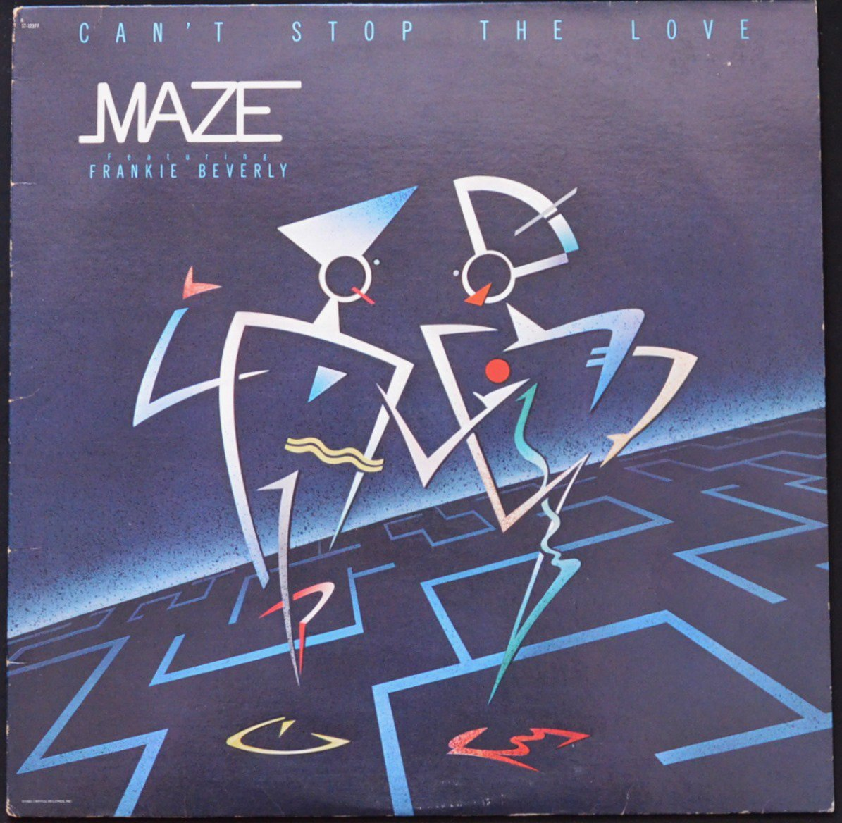 MAZE FEATURING FRANKIE BEVERLY ‎/ CAN'T STOP THE LOVE (LP)