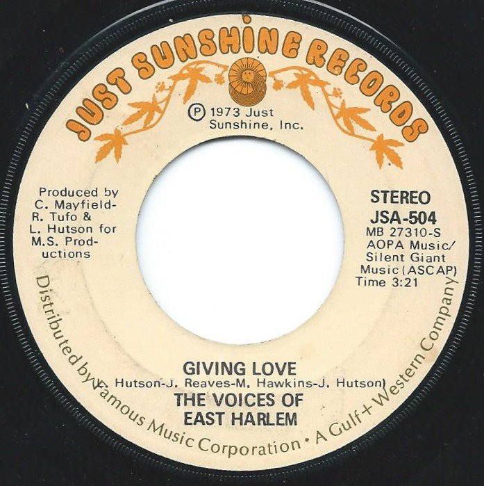 THE VOICES OF EAST HARLEM / GIVING LOVE / NEW VIBRATIONS (7