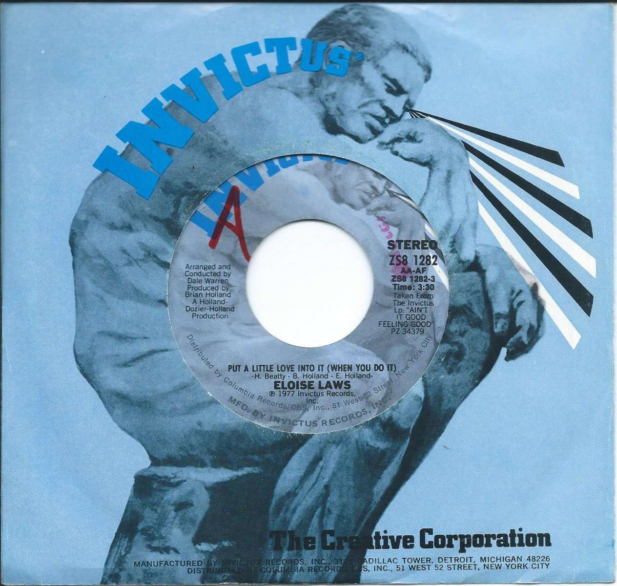 ELOISE LAWS / PUT A LITTLE LOVE INTO IT ( WHEN YOU DO IT ) / CAMOUFLAGE (7