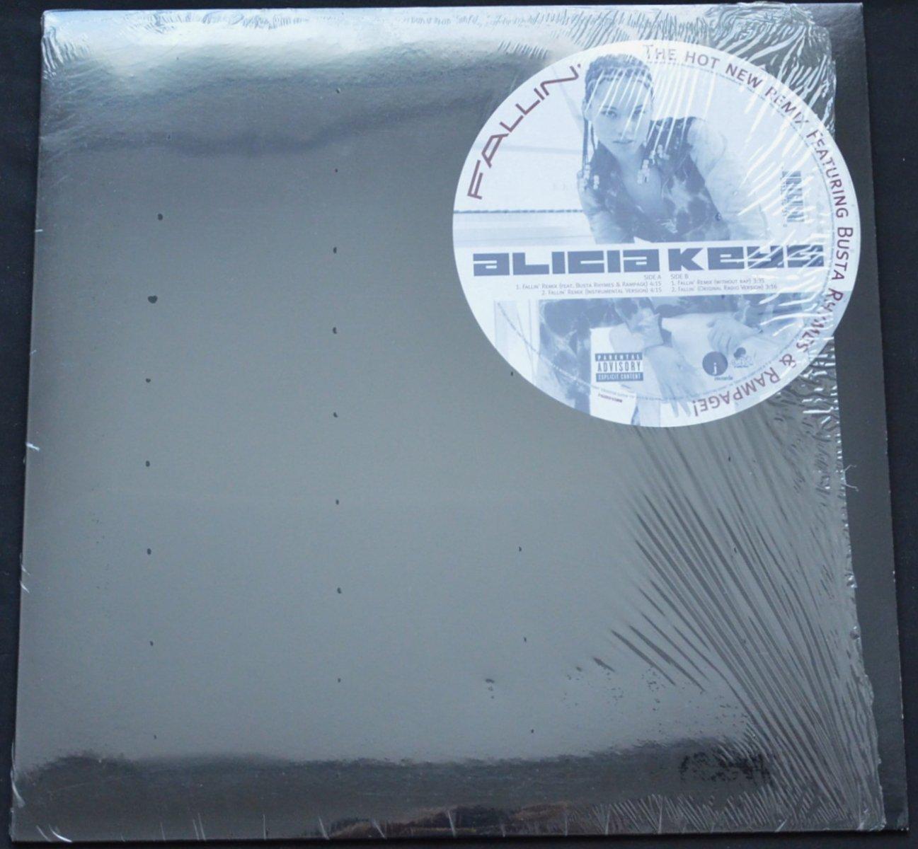 ALICIA KEYS / FALLIN' - REMIX (FETA.BUSTA RHYMES,RAMPAGE) (12