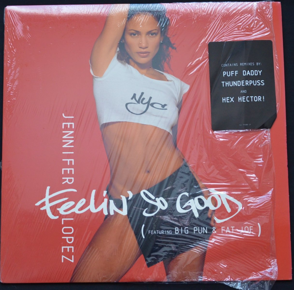 JENNIFER LOPEZ FEATURING BIG PUN & FAT JOE ‎/ FEELIN' SO GOOD (12