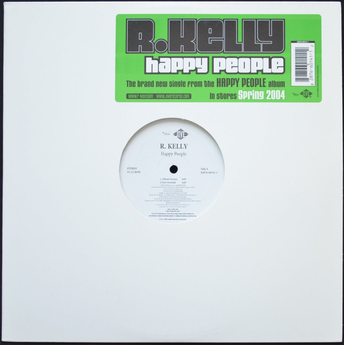 R. KELLY ‎/ HAPPY PEOPLE (12