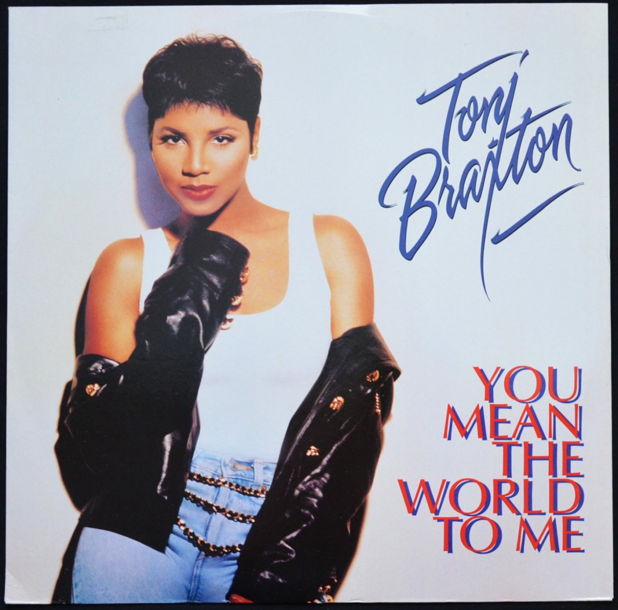 TONI BRAXTON ‎/ YOU MEAN THE WORLD TO ME / SEVEN WHOLE DAYS (GHETTO VIBE) (12