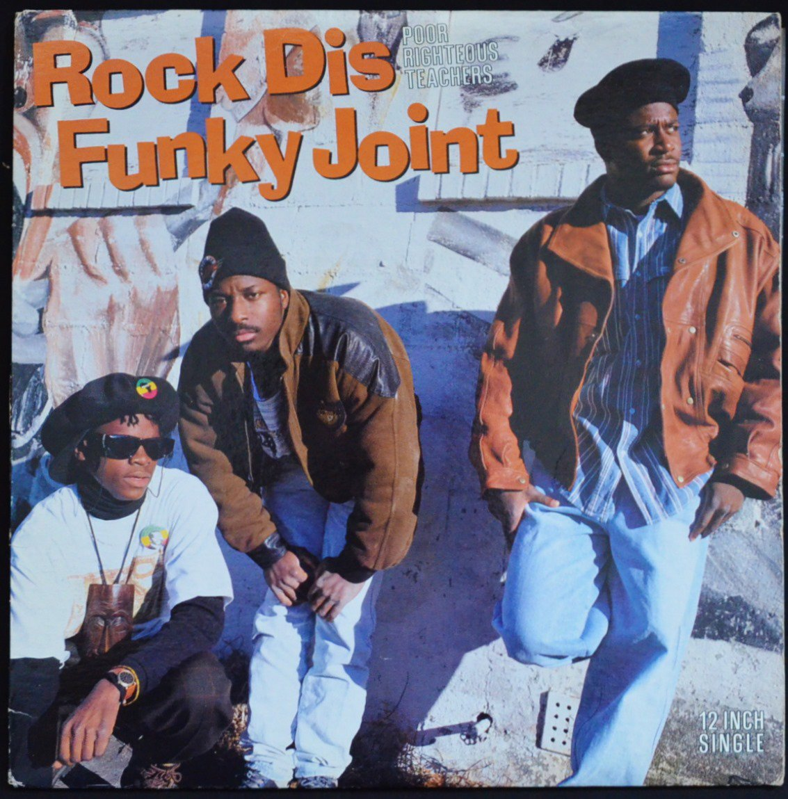 POOR RIGHTEOUS TEACHERS / ROCK DIS FUNKY JOINT (12