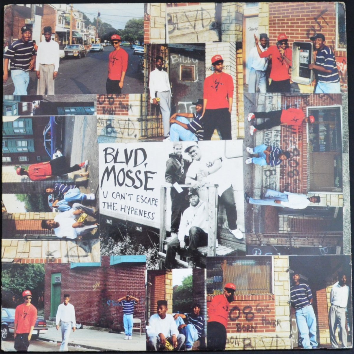 BLVD. MOSSE ‎/ U CAN'T ESCAPE THE HYPENESS / CHECK OUT THE FOOTWORK (12