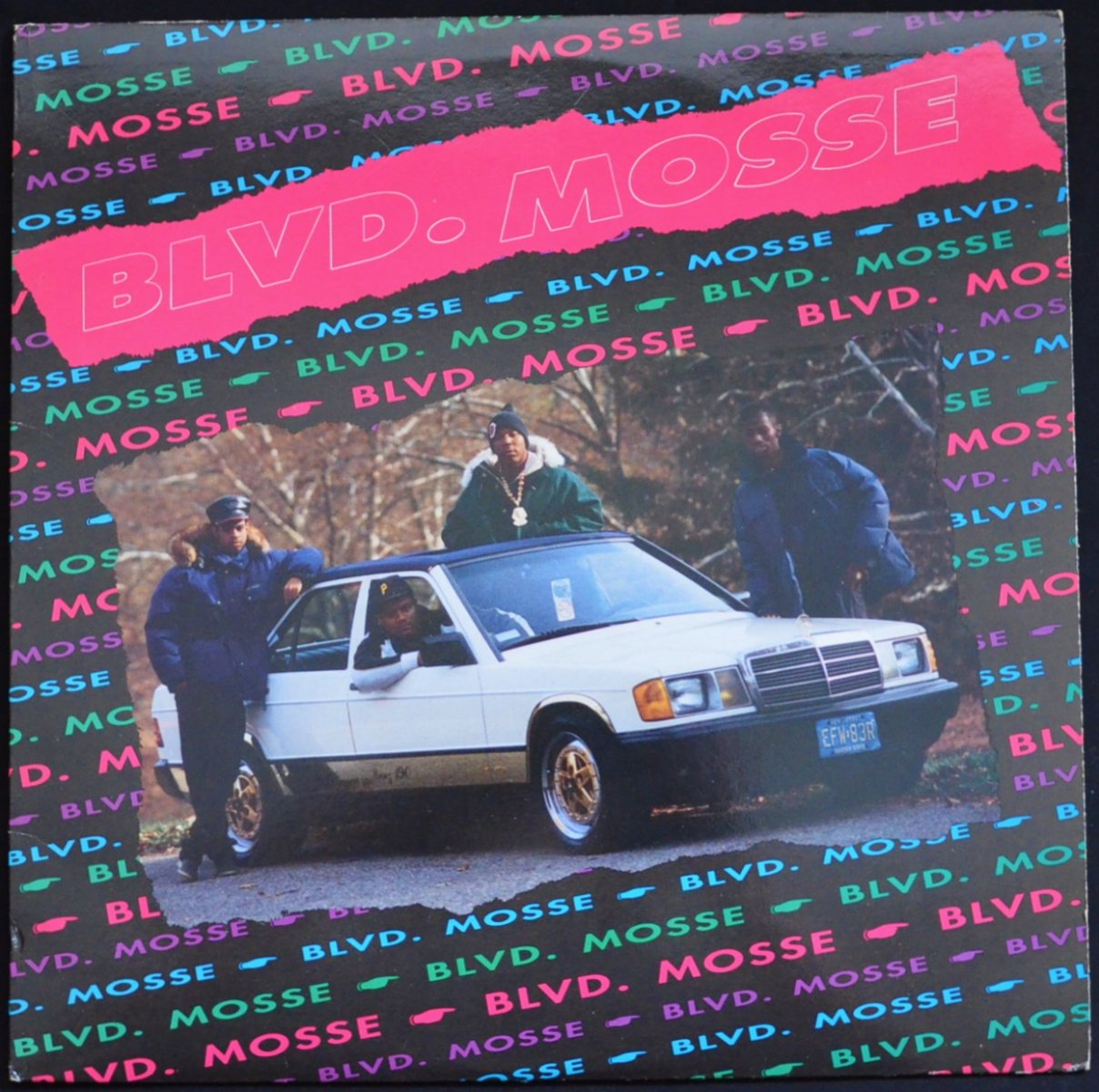 BLVD. MOSSE / ALL PRAISES DUE TO OUTSTANDING / MOVE TO SOMETHING FUNKY (12