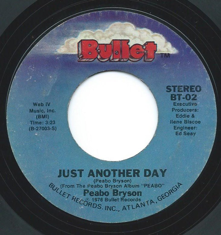 PEABO BRYSON / JUST ANOTHER DAY / LET THE MUSIC PLAY (7