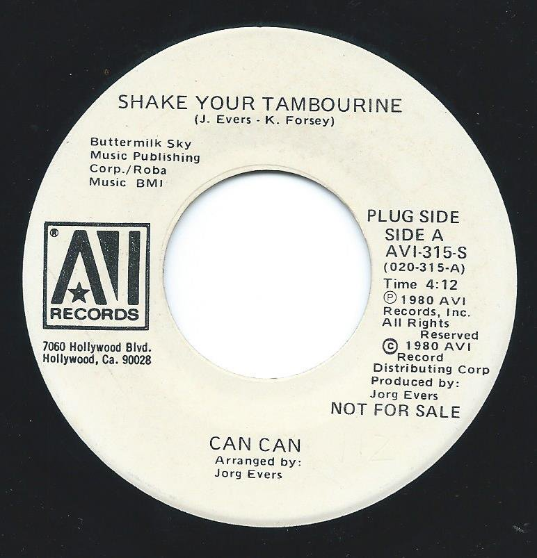 CAN CAN / SHAKE YOUR TAMBOURINE (7