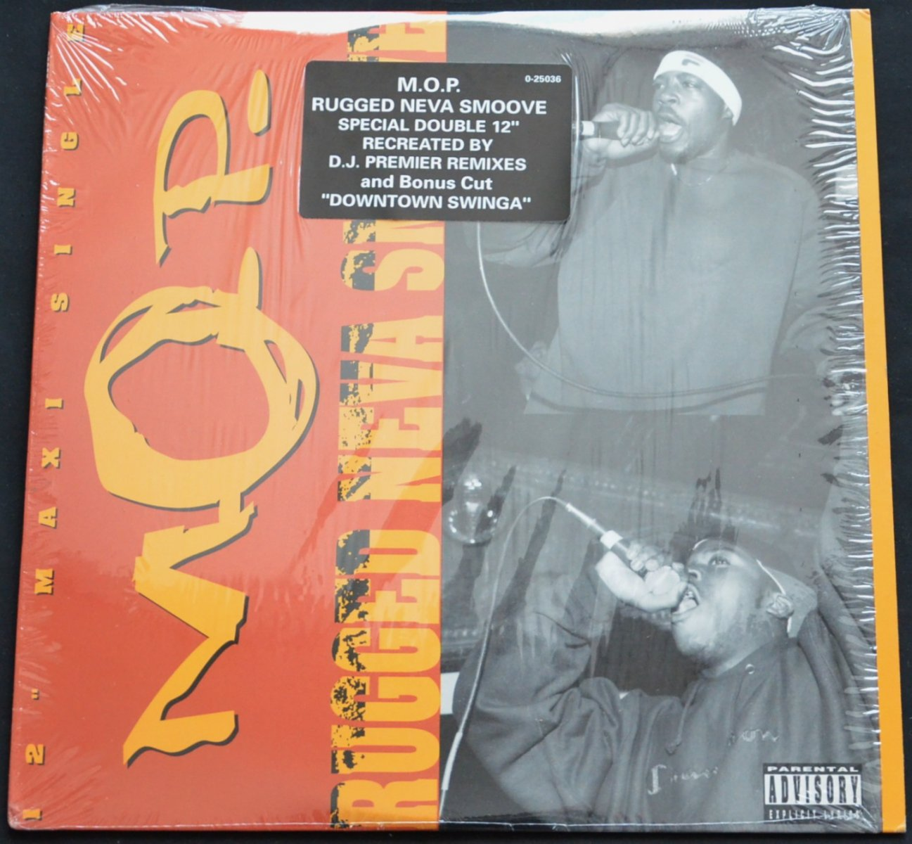 M.O.P. / RUGGED NEVA SMOOVE (DJ PREMIER REMIX) (2×12