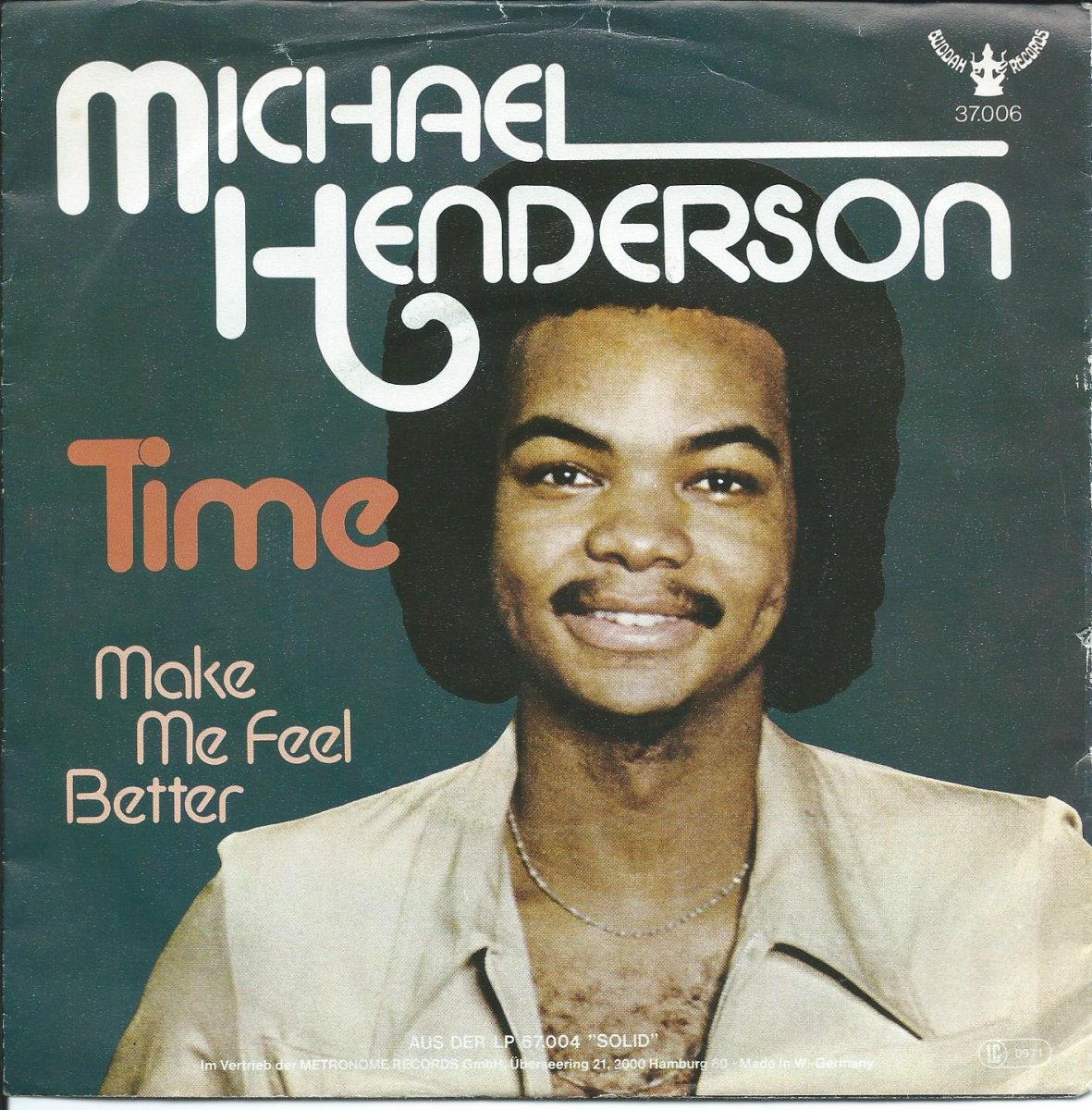 MICHAEL HENDERSON / TIME / MAKE ME FEEL BETTER (7