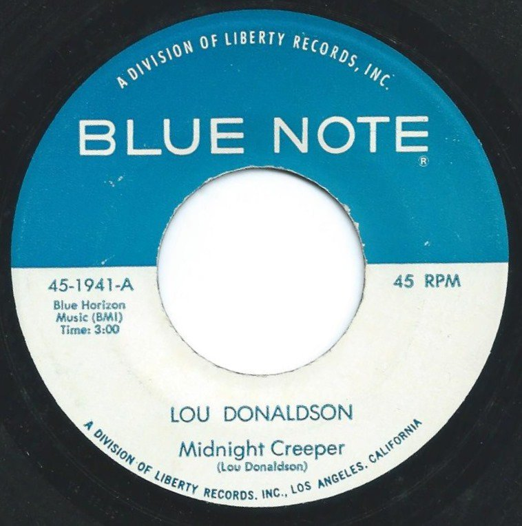 LOU DONALDSON ‎/ MIDNIGHT CREEPER / LOVE POWER (7
