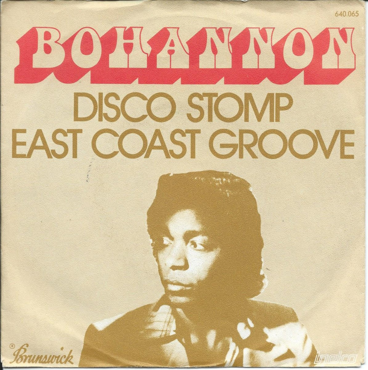 HAMILTON BOHANNON / DISCO STOMP / EAST COAST GROOVE (7