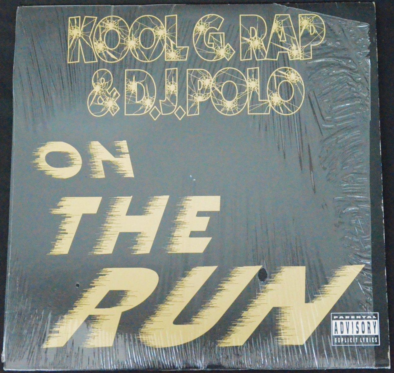 KOOL G RAP & DJ POLO / ON THE RUN / STRAIGHT JACKET (12