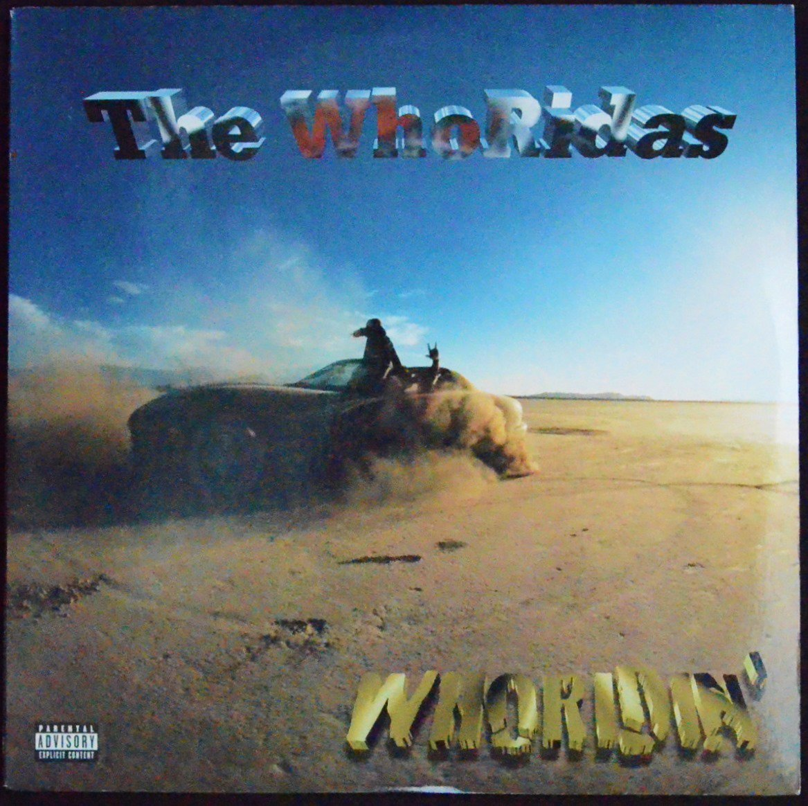 THE WHORIDAS ‎/ WHORIDIN' (2LP)