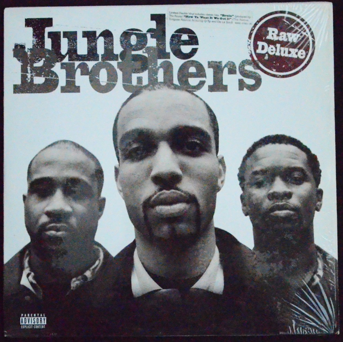 JUNGLE BROTHERS / RAW DELUXE (2LP)