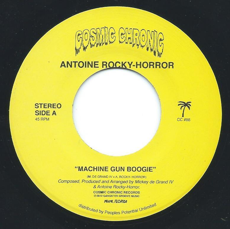 ANTOINE ROCKY-HORROR / MACHINE GUN BOOGIE / SOPHIA (7