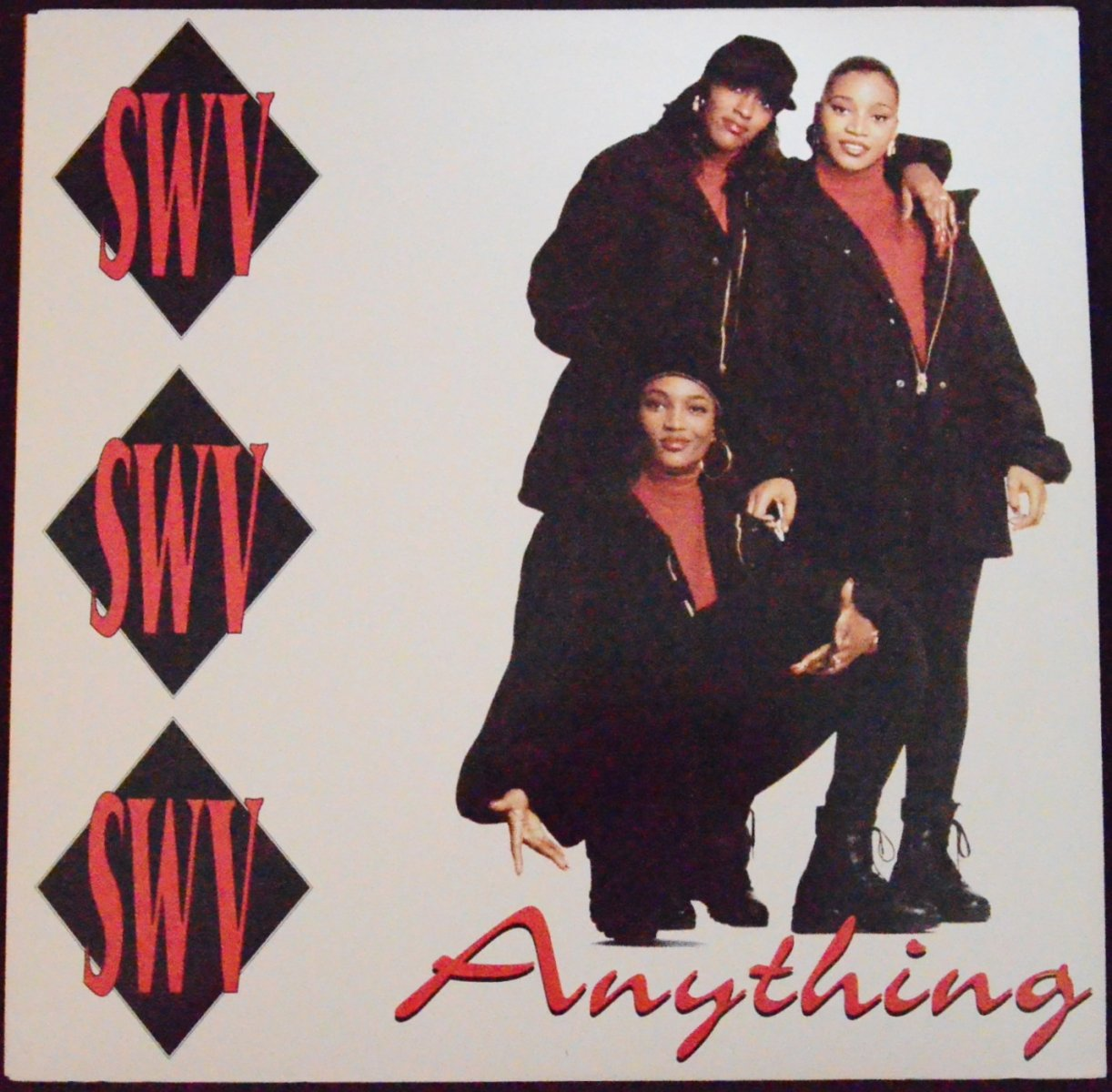 SWV ‎/ ANYTHING (12