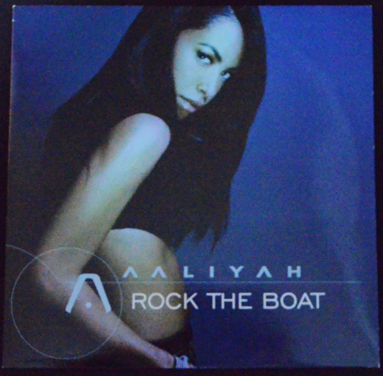 AALIYAH / ROCK THE BOAT (12