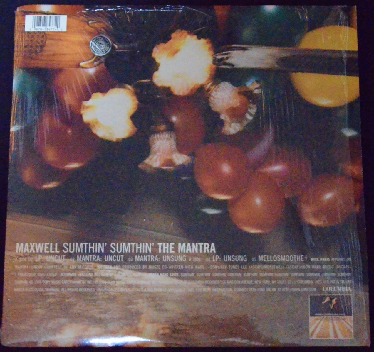 MAXWELL ‎/ SUMTHIN' SUMTHIN': THE MANTRA (12