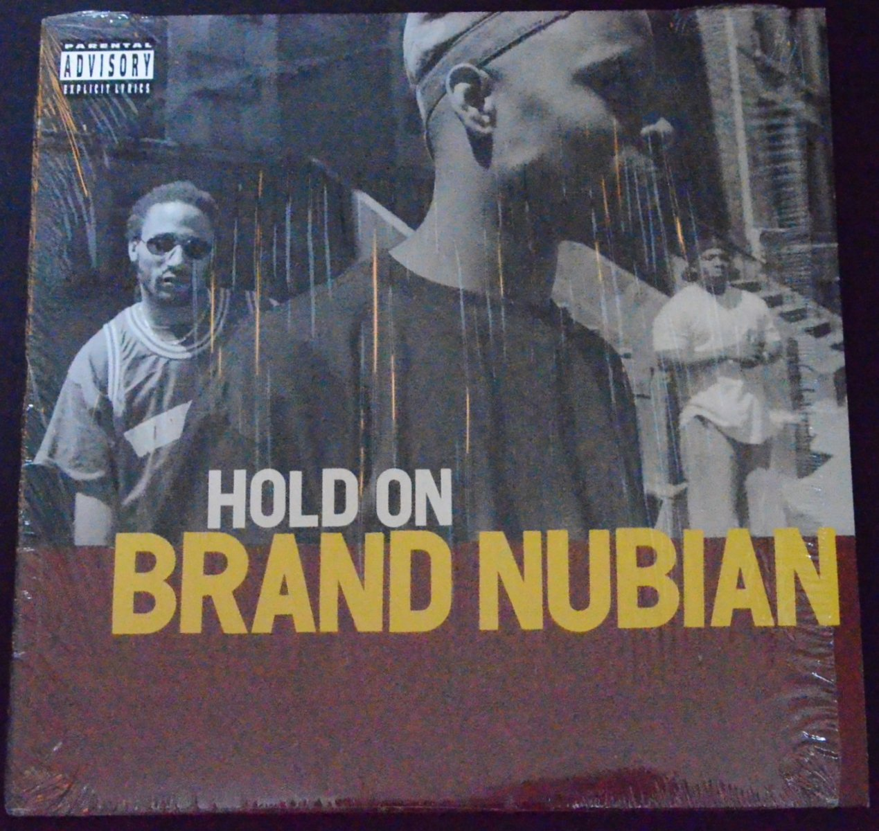 BRAND NUBIAN ‎/ HOLD ON / STEP INTO DA CYPHER (12