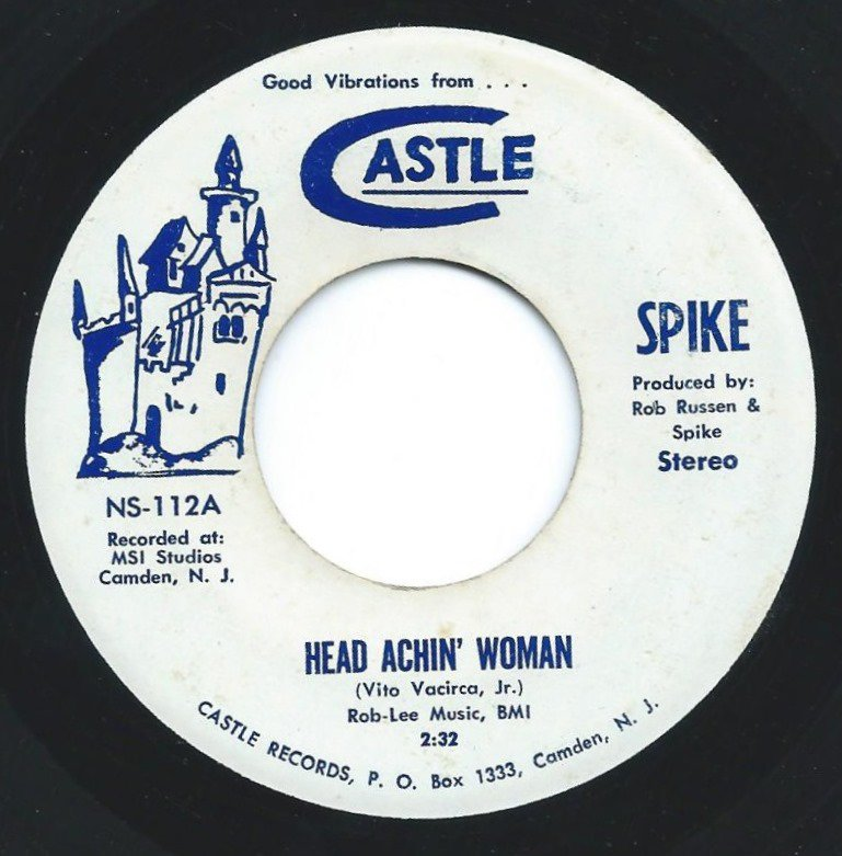 SPIKE / HEAD ACHIN' WOMAN / I LOVE YOU (7