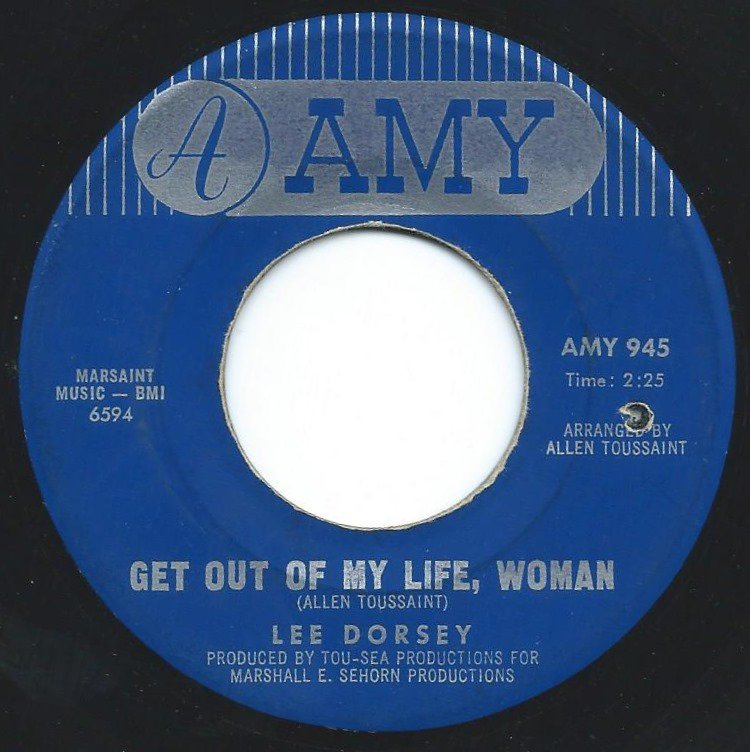 LEE DORSEY / GET OUT OF MY LIFE, WOMAN / SO LONG (7